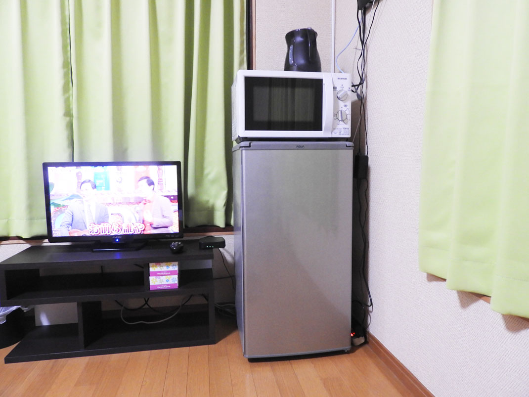 テレビ・冷蔵庫